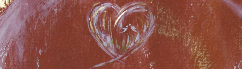 Engelbilder und Bilder mit Herz